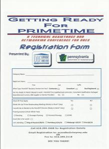 DBE Event II  registration