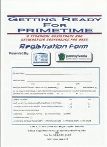 DBE Event II  registration