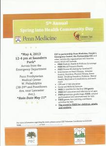 Health Community Day