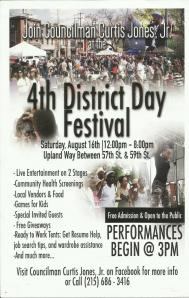 4th district festival day