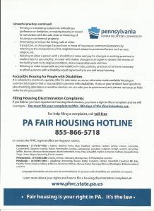 PA FAIR Housing