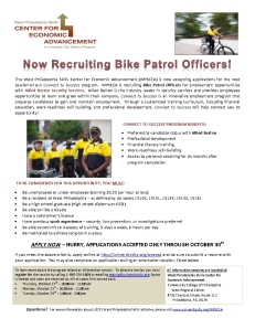 Connect to Success - Bike Patrol Officer Recruitment-001