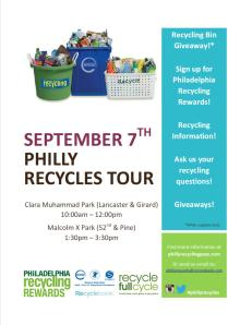 REcycle Flyer for sept 7